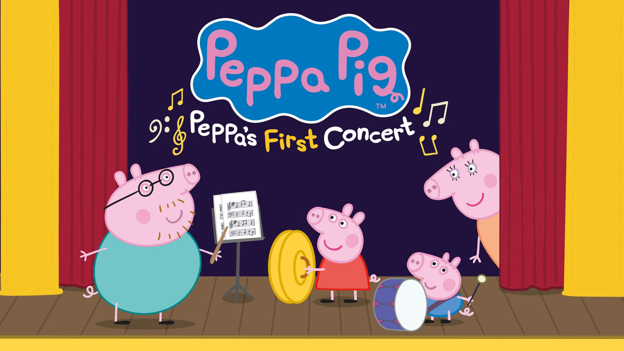 Peppa Pig: My First Concert Event Title Pic