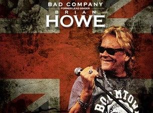 Brian Howe Bad Company Former Lead Singer