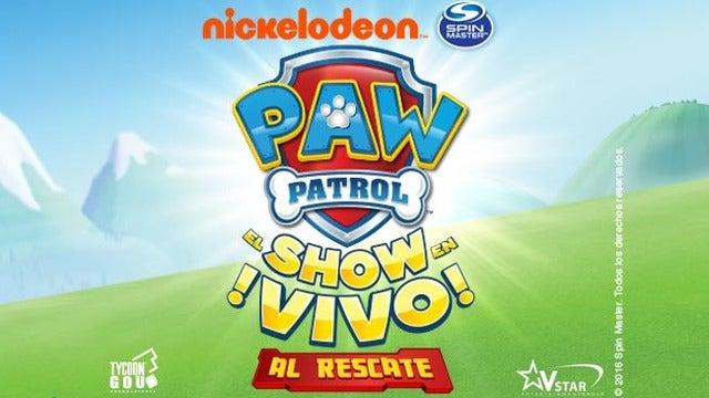 Paw Patrol el show en vivo, al rescate!