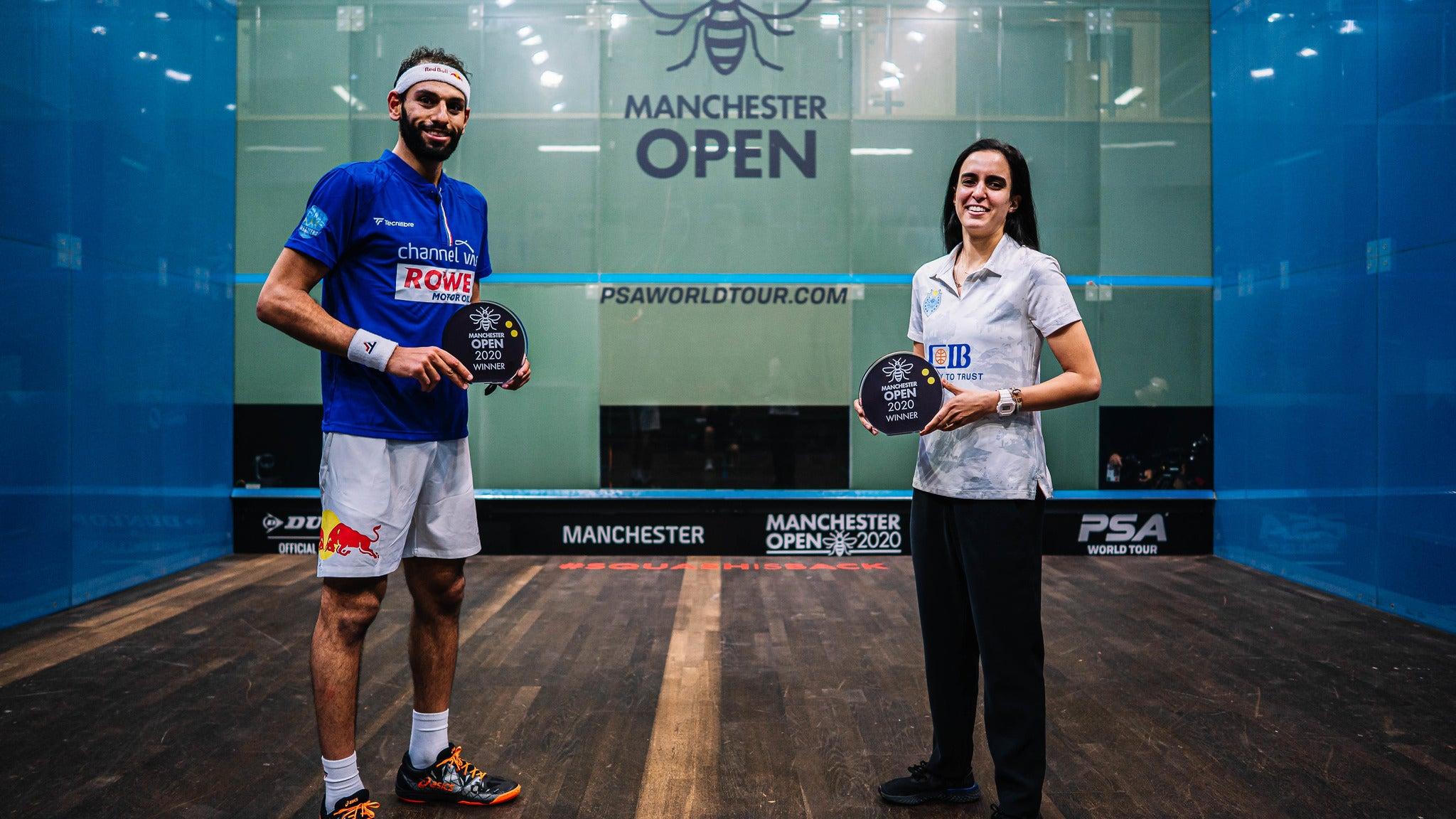 Manchester Open Squash 2021 - Quarter Finals - Session 2