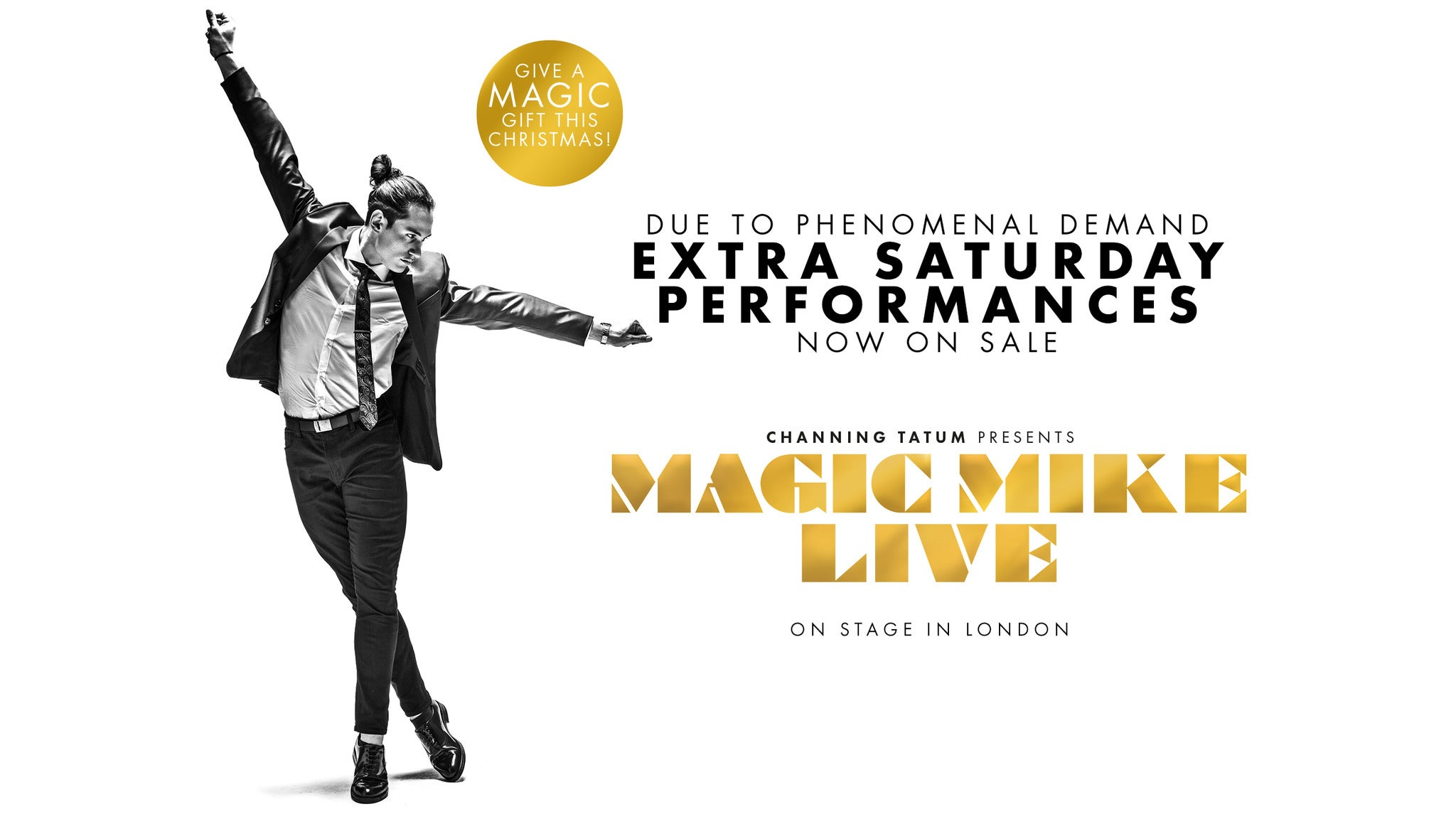 Magic Mike Live tickets (Copyright © Ticketmaster)