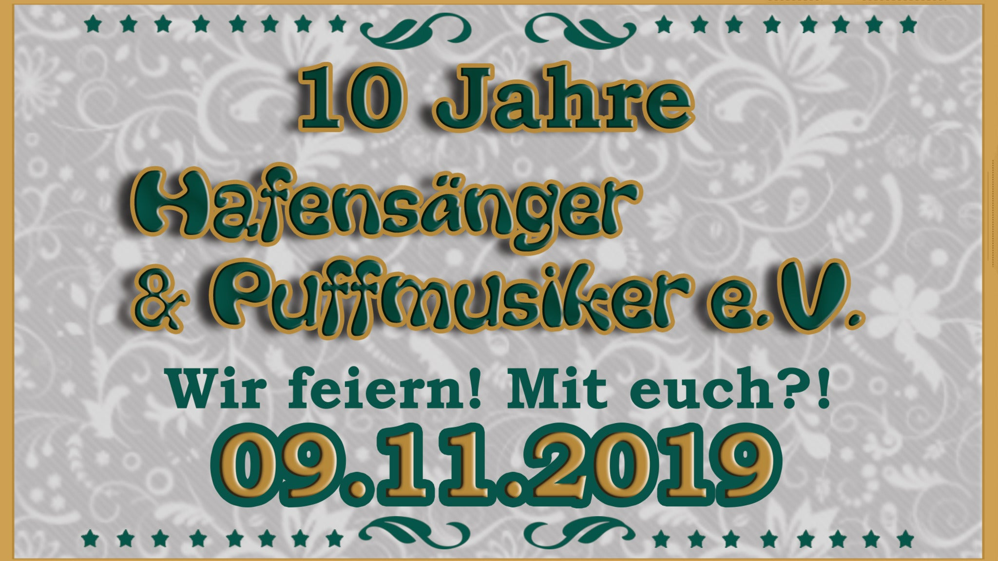 Tickets & Infos von 10 Jahre Hafensänger & Puffmusiker