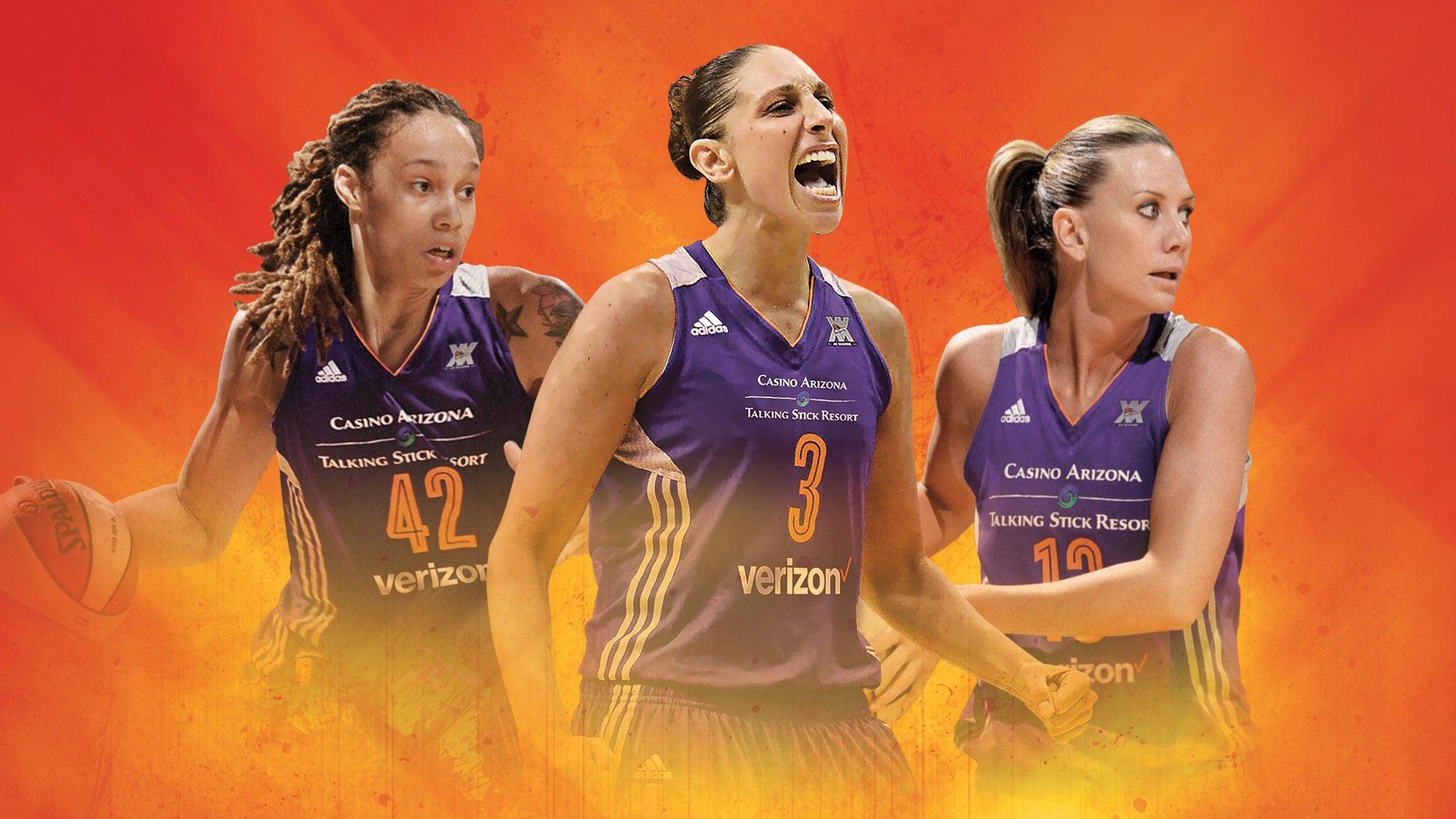 2016 WNBA Playoffs Semi-Finals Mercury v Lynx