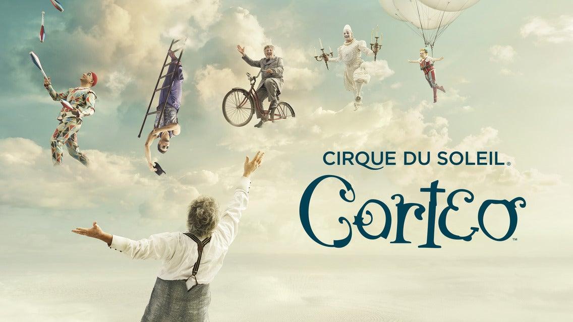 Cirque du Soleil : Corteo 3Arena Seating Plan