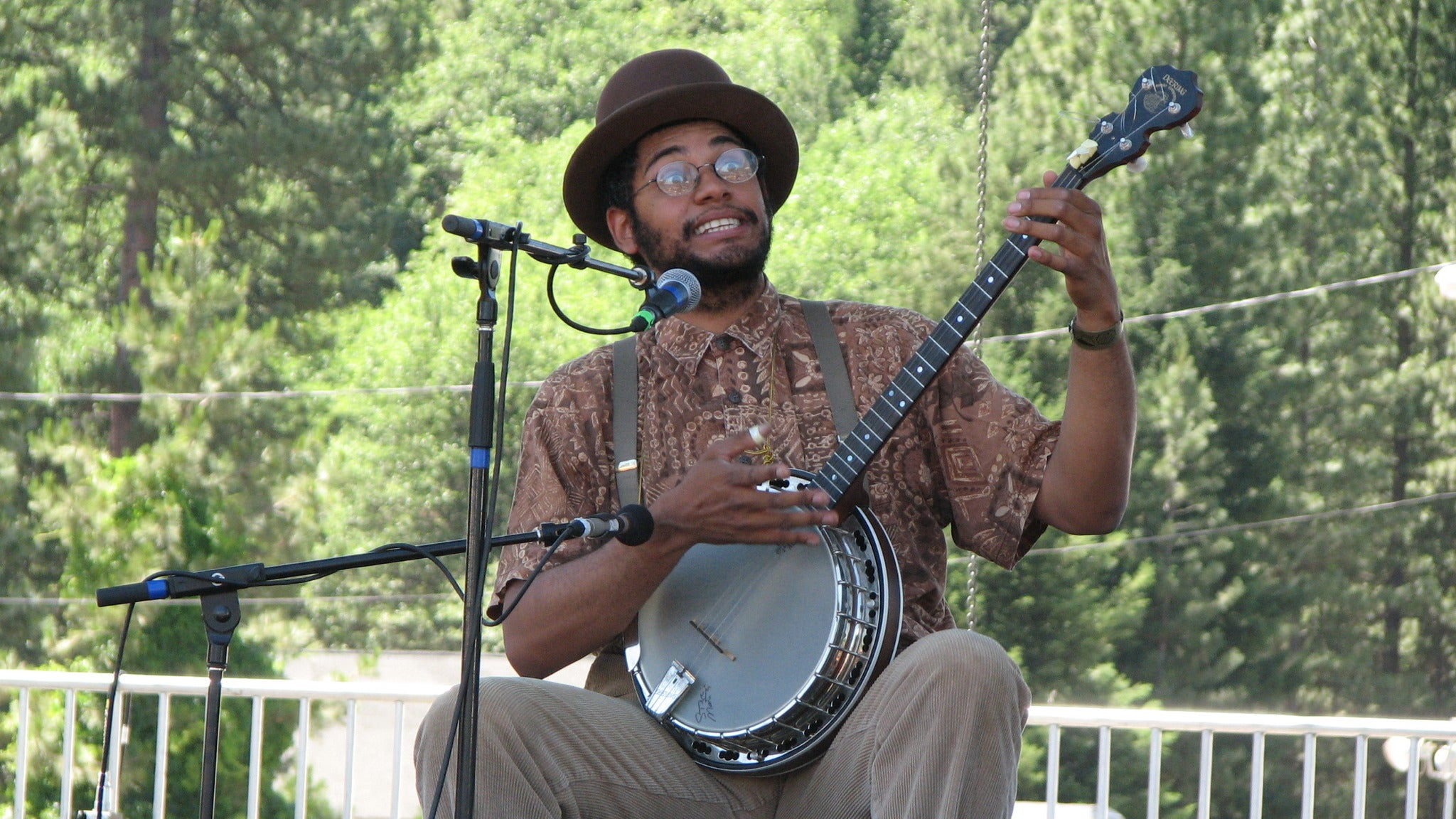 Dom Flemons with Kaia Kater and Jerron 'Blind Boy' Paxton