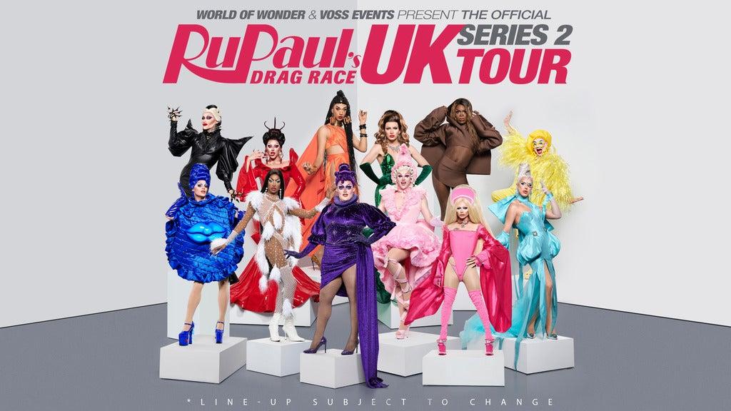 Hotels near RuPaul's Drag Race UK Events