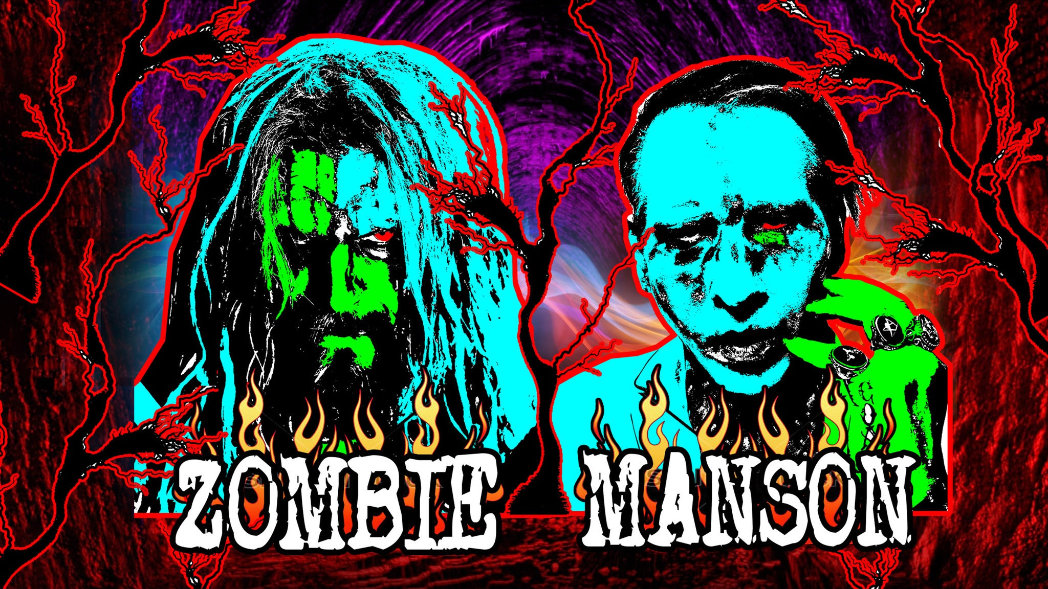 Twins Of Evil: Rob Zombie & Marilyn Manson - Hell Never Dies Tour 2019