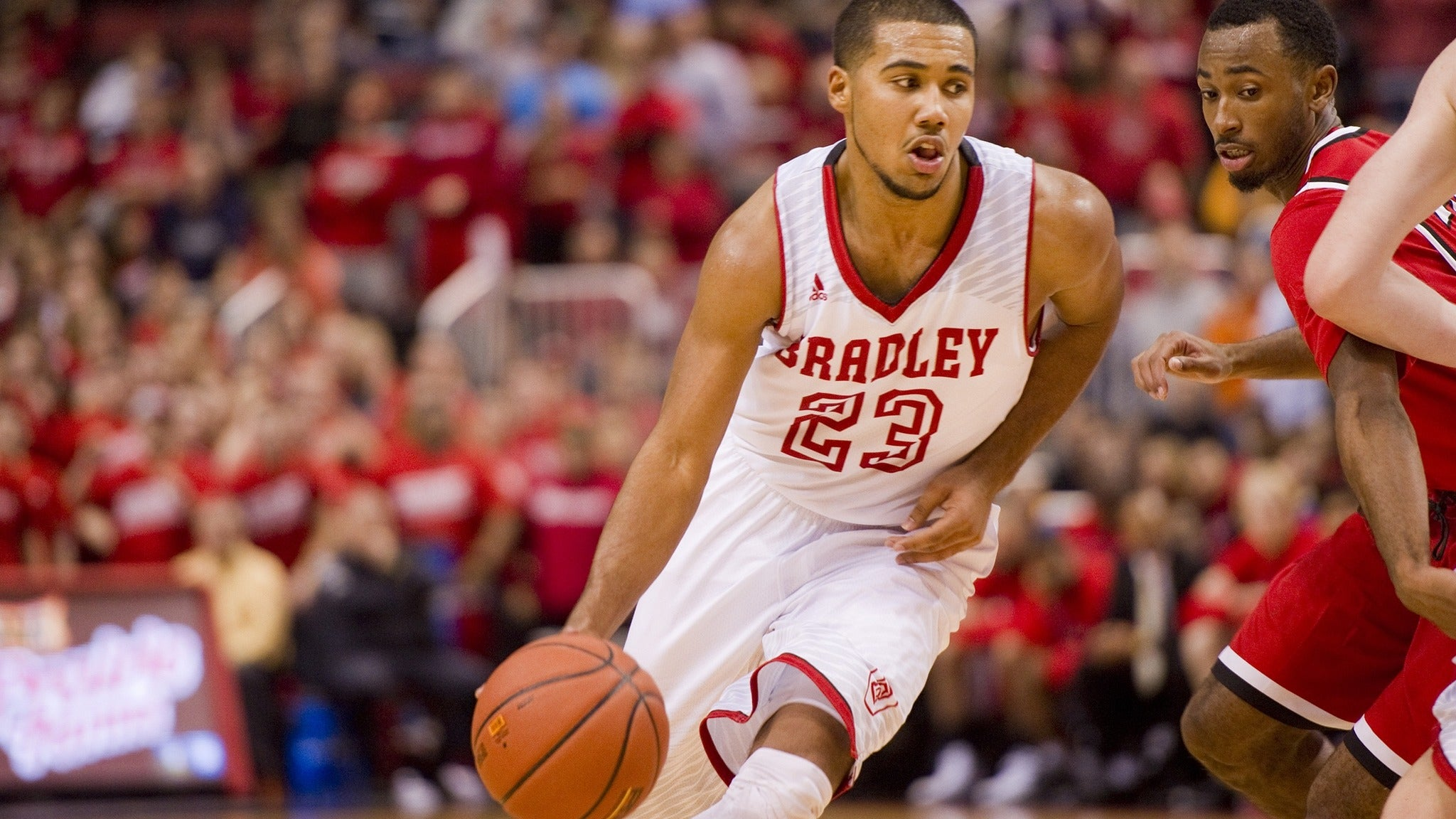 Bradley Braves vs. IUPUI Jaguars Men's Basketball