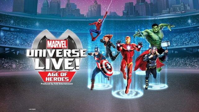 Marvel Universe Live! Age of Heroes | Saint Paul, MN | Xcel Energy Center | December 10, 2017