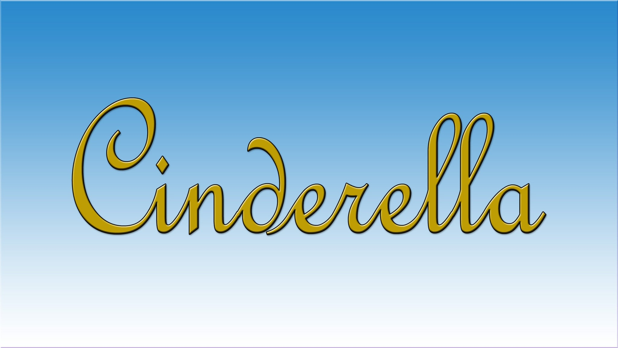 Cinderella Presented By Inland Pacific Ballet