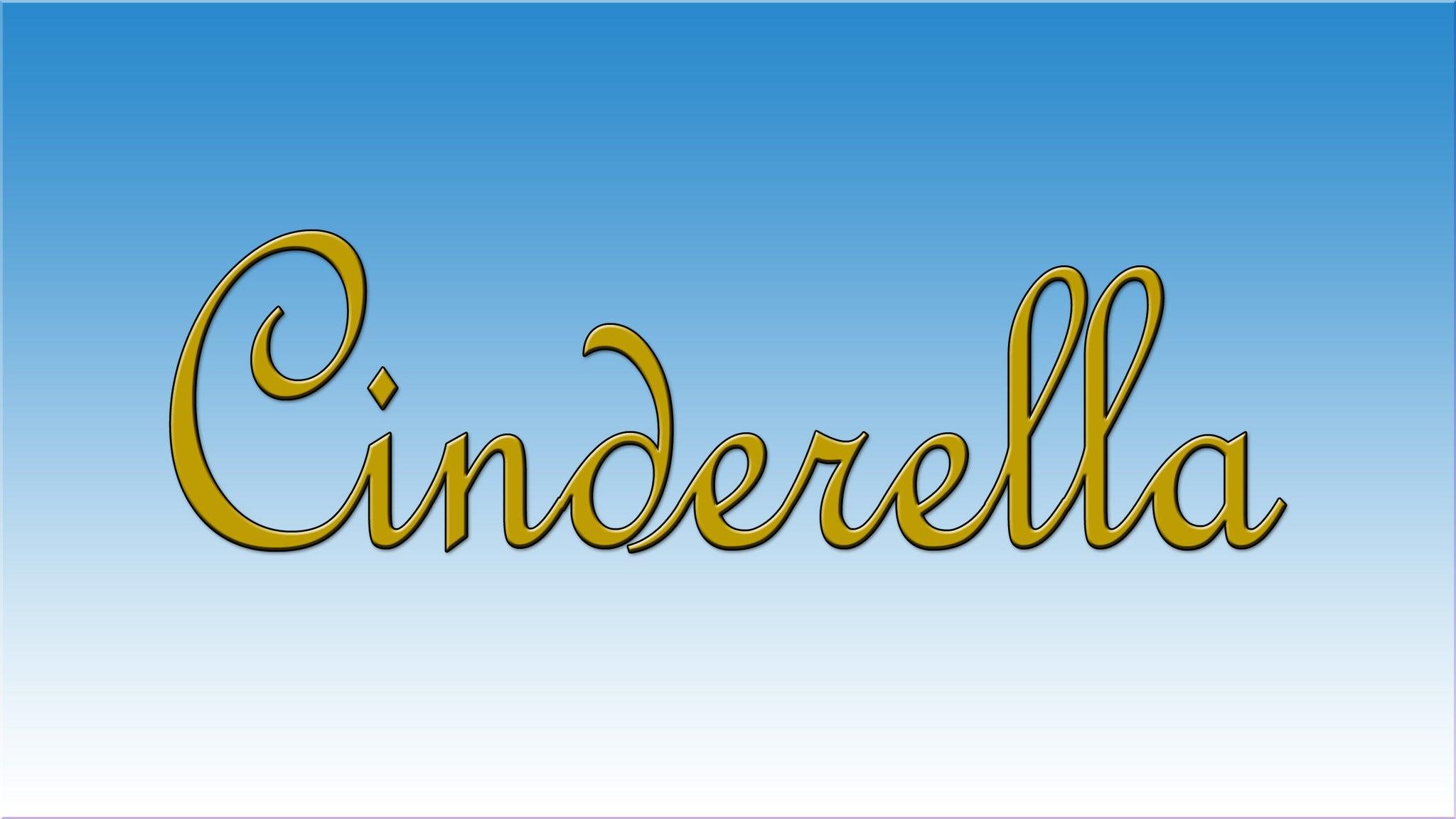 Ann Brodie's Carolina Ballet Presents Cinderella