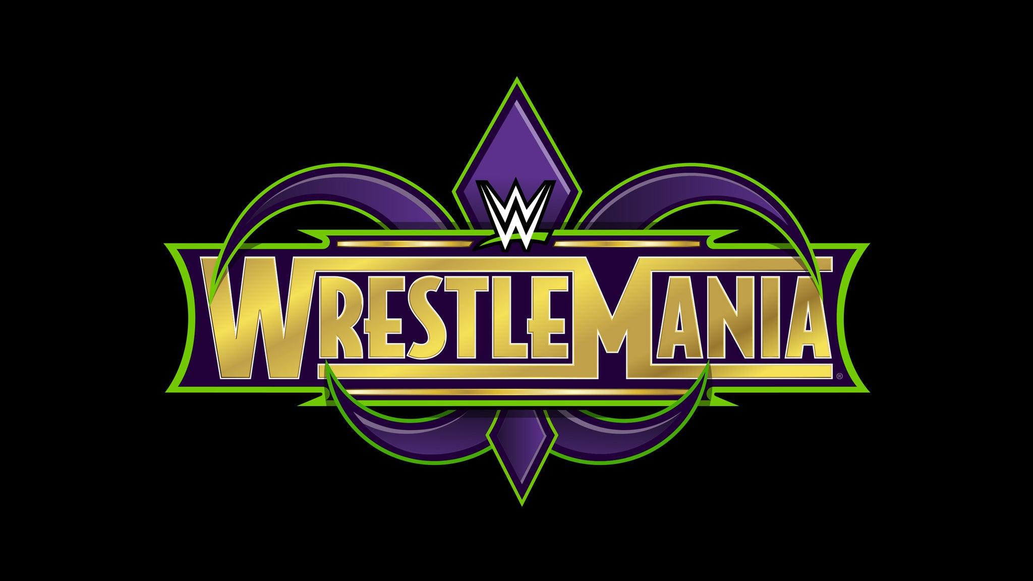 WWE WrestleMania at Mercedes-Benz Superdome