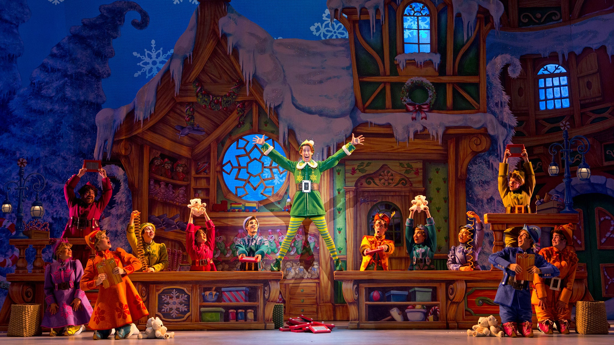 Elf the Musical at Pensacola Saenger Theatre