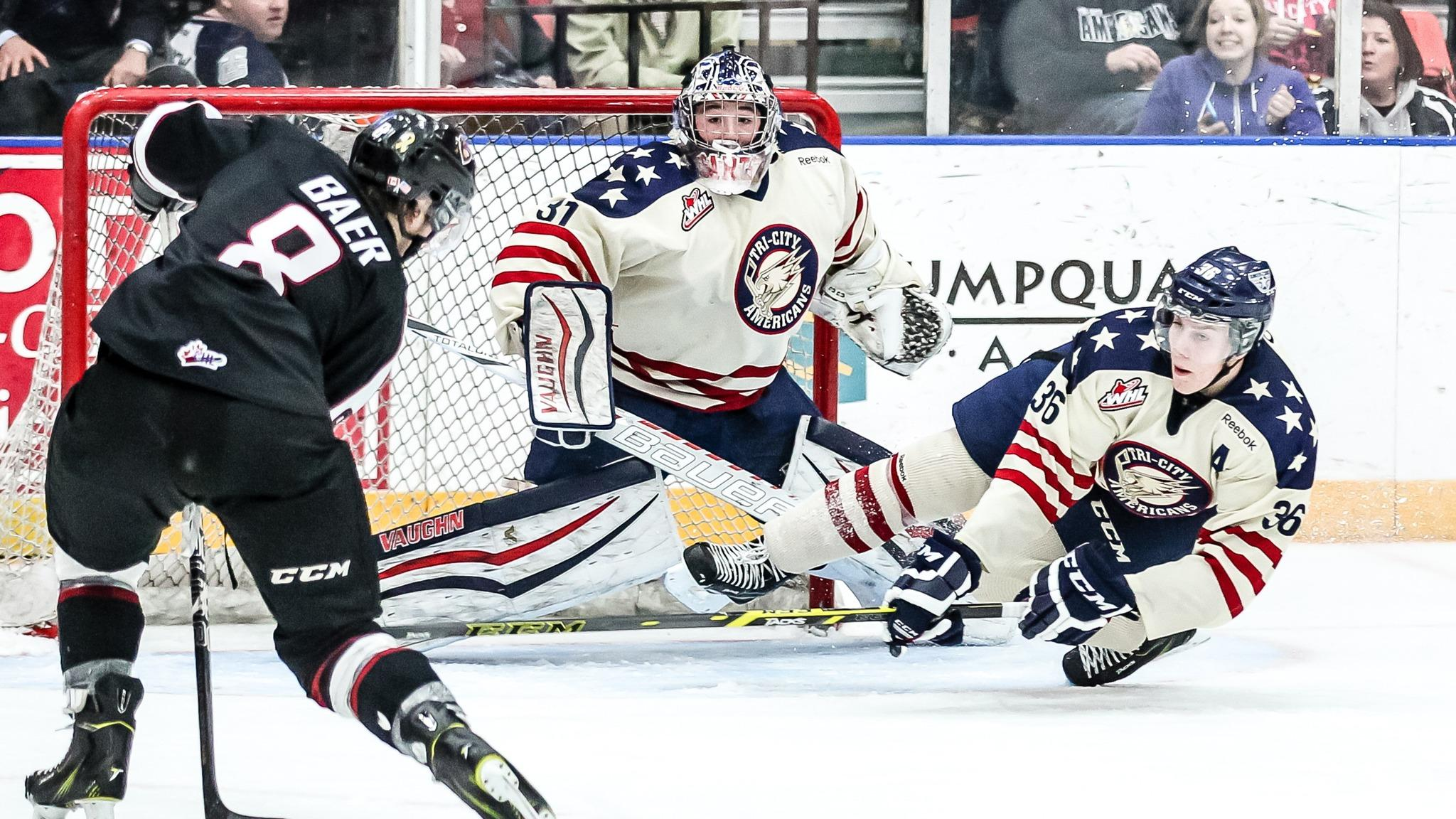 Tri-City Americans vs. Seattle Thunderbirds - Kennewick, WA 99336