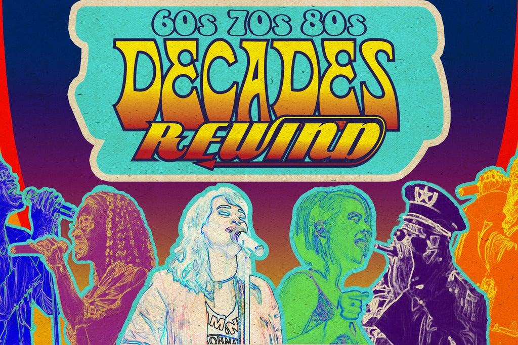 Decades Rewind   Saginaw, MI   Dow Event Center   December 9, 2017