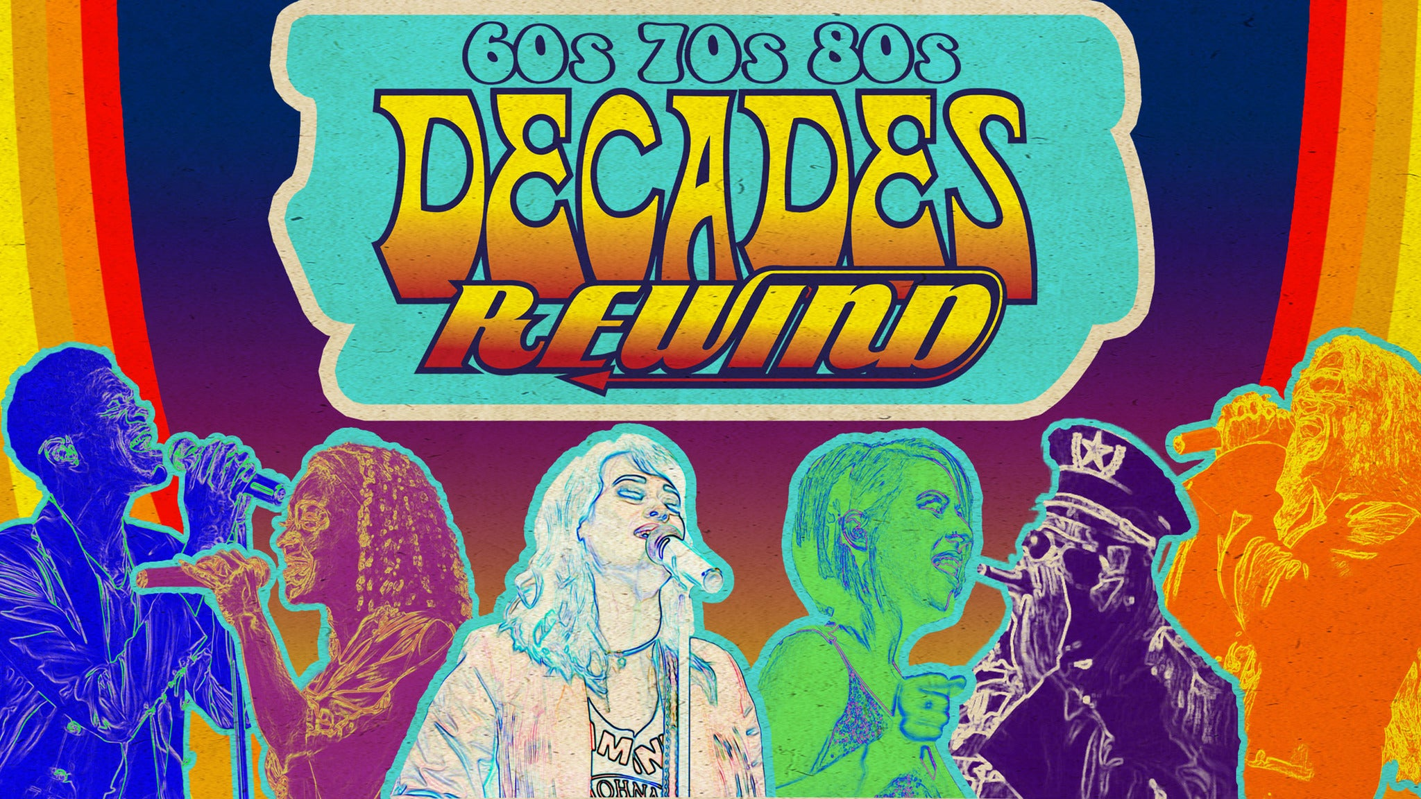 Decades Rewind at Macon City Auditorium