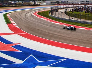 3-Day General Admission Grounds Pass- F1 Pirelli 2018 USGP (WRISTBAND)