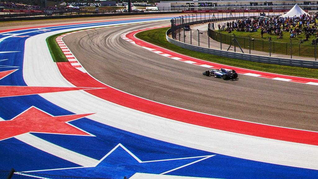 Saturday - Formula 1 USGP Admission