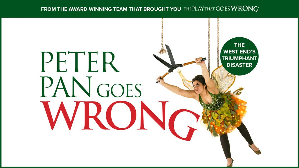 Hotels near Peter Pan Goes Wrong Events
