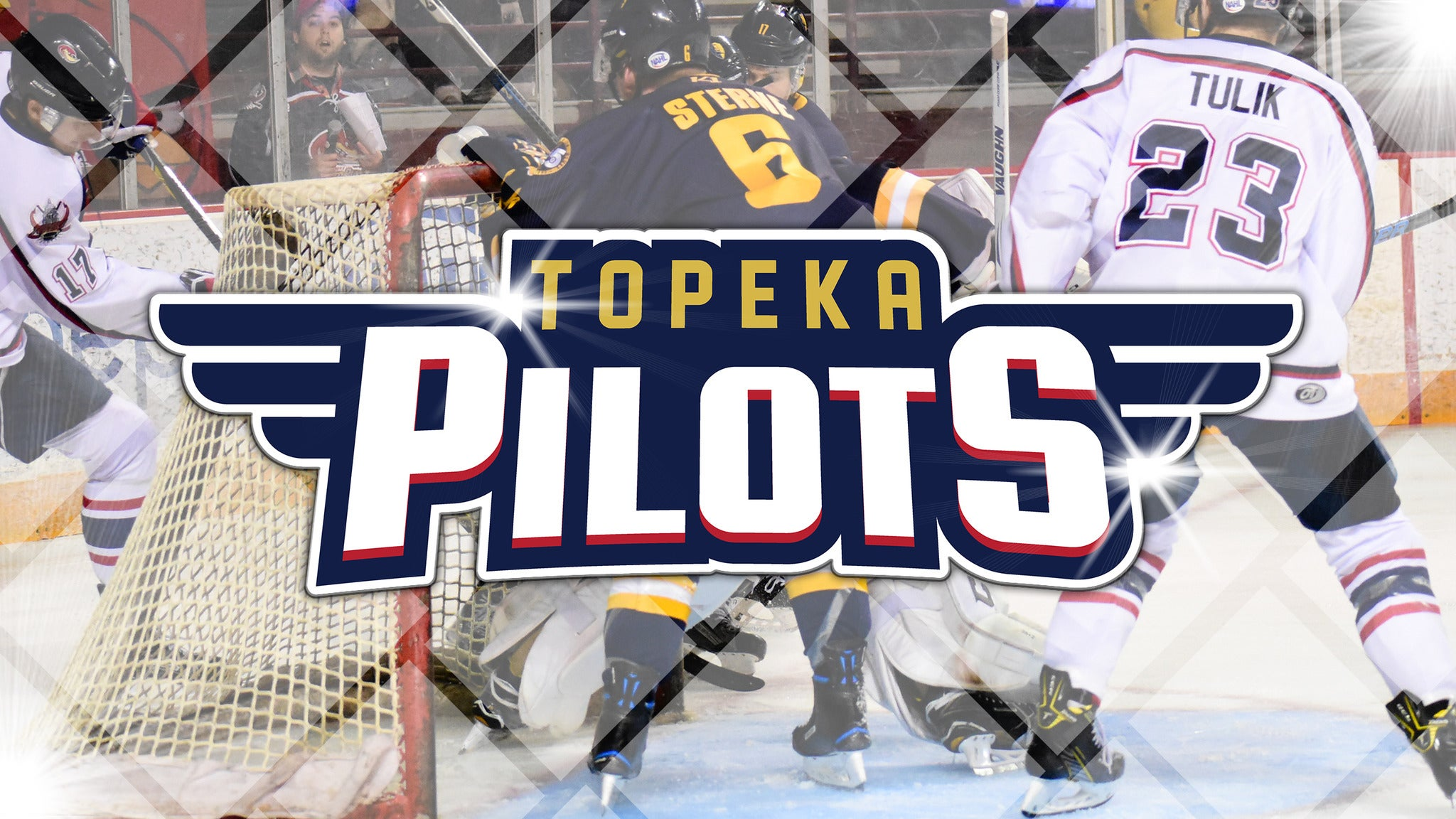 Topeka Pilots vs. Fairbanks Ice Dogs at Kansas Expocentre
