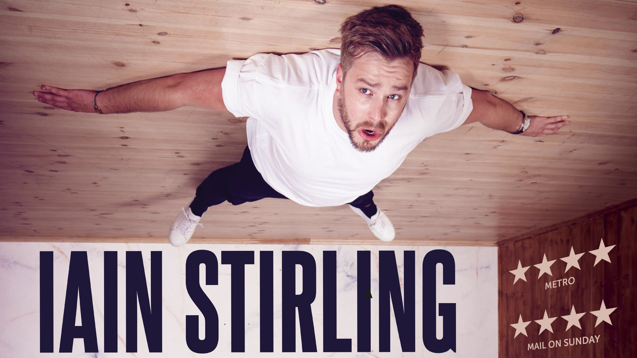 Iain Stirling - Failing Upwards tickets (Copyright © Ticketmaster)