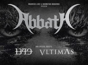 Abbath + 1349 + Vltimas, 2020-02-01, Madrid