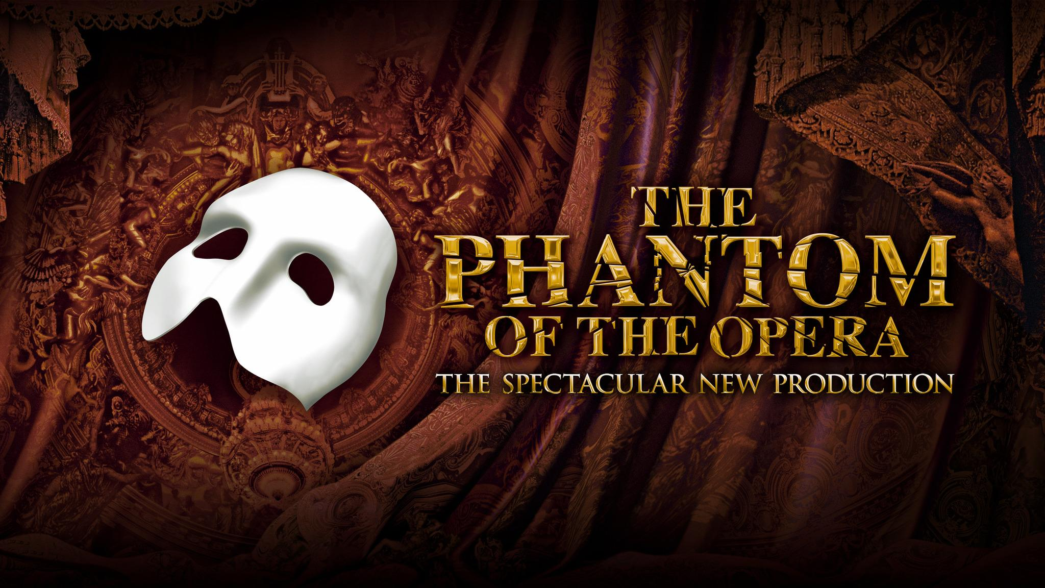 The Phantom Of The Opera (2018) at San Diego Civic Theatre - San Diego, CA 92101