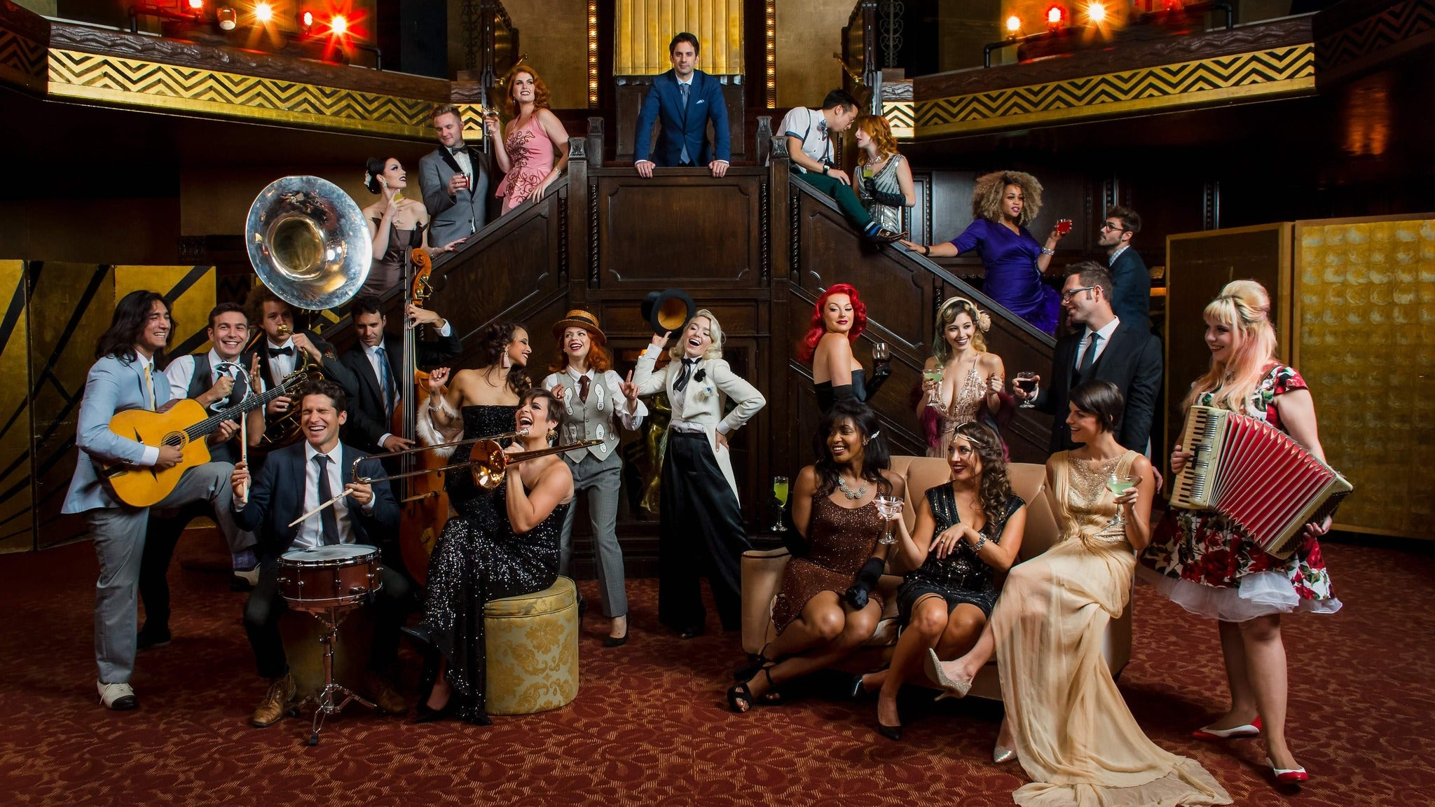 Scott Bradlee's Postmodern Jukebox at McCallum Theatre