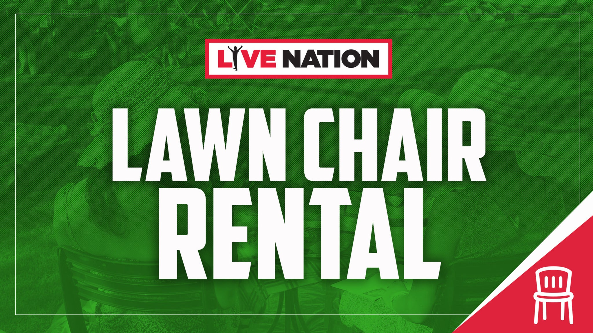 Lawn Chair Rental: Lindsey Stirling - This Is NOT A Concert Ticket
