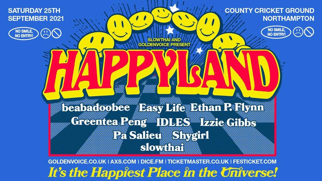 Hotels near Happyland Events