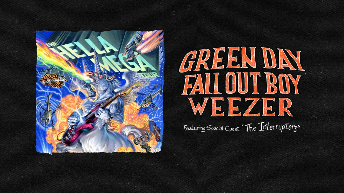 Hella Mega Tour-Green Day/Fall Out Boy/Weezer Pres. by Harley-Davidson