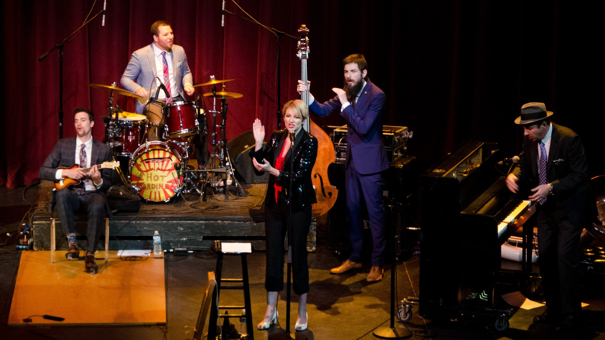 The Hot Sardines at Ball State University Pruis Hall - Muncie, IN 47306