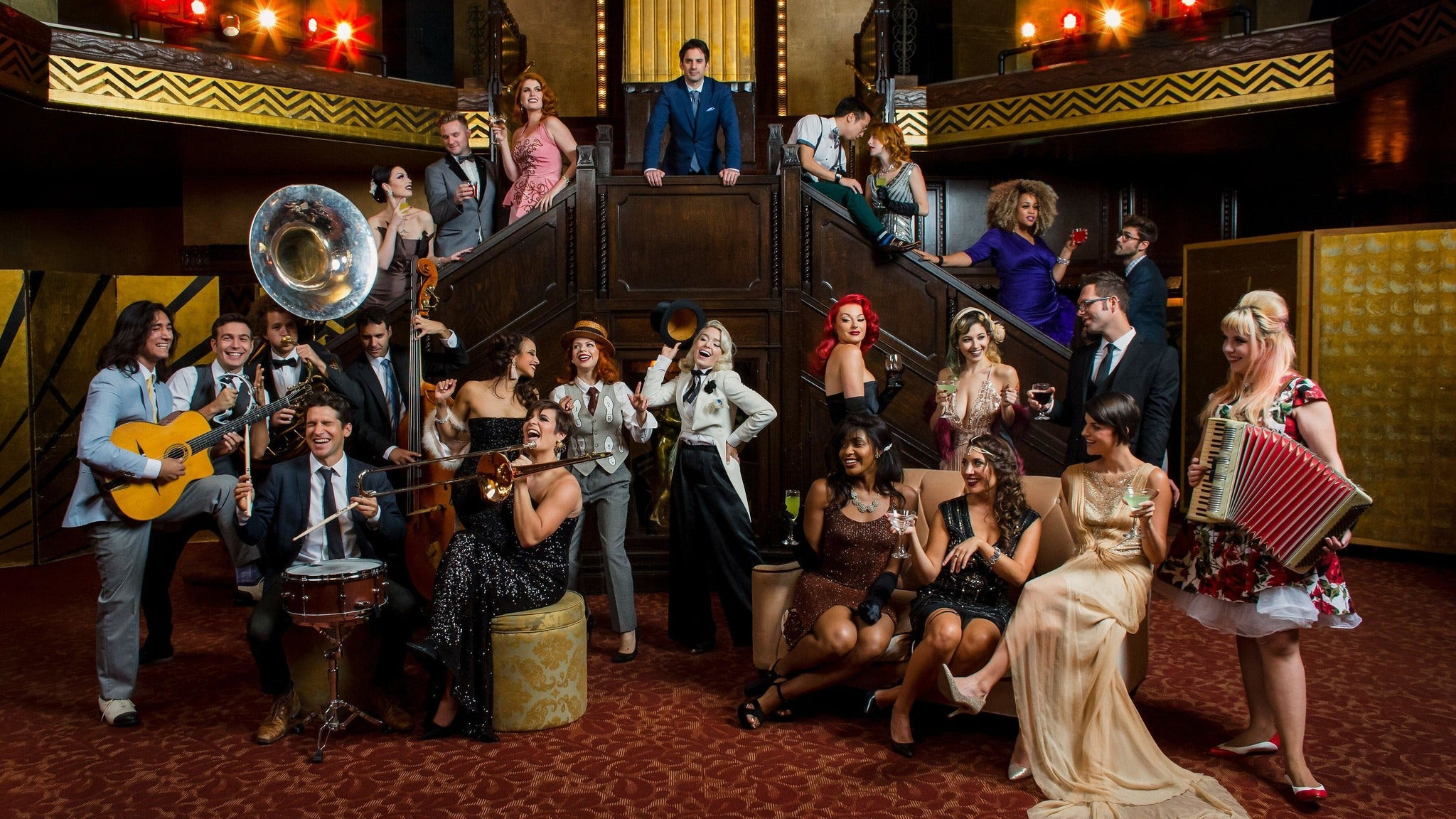 Postmodern Jukebox - Welcome to the Twenties 2.0 tickets (Copyright © Ticketmaster)