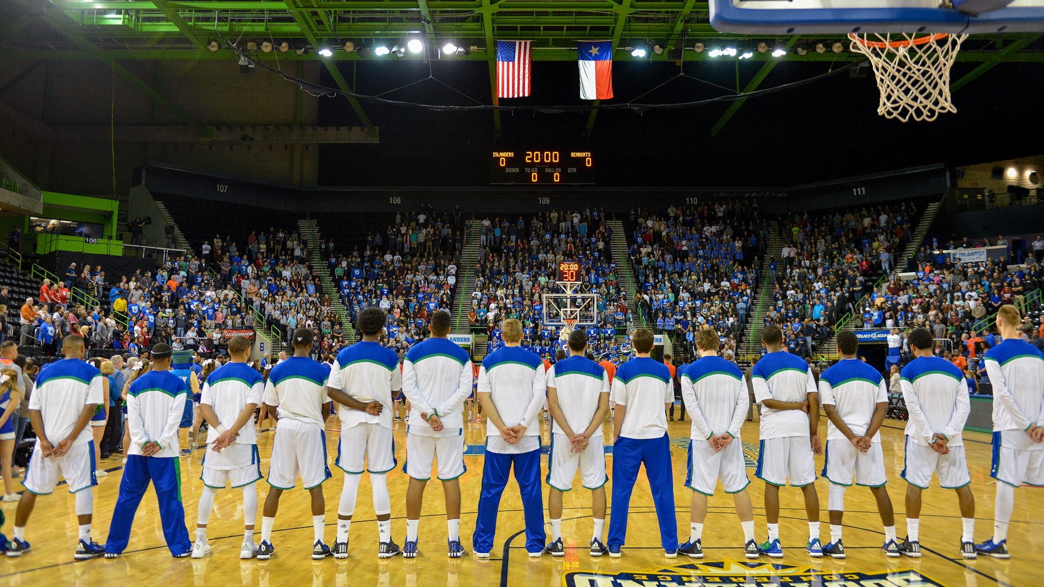 Texas A&M Corpus Christi Islanders Mens Basketball