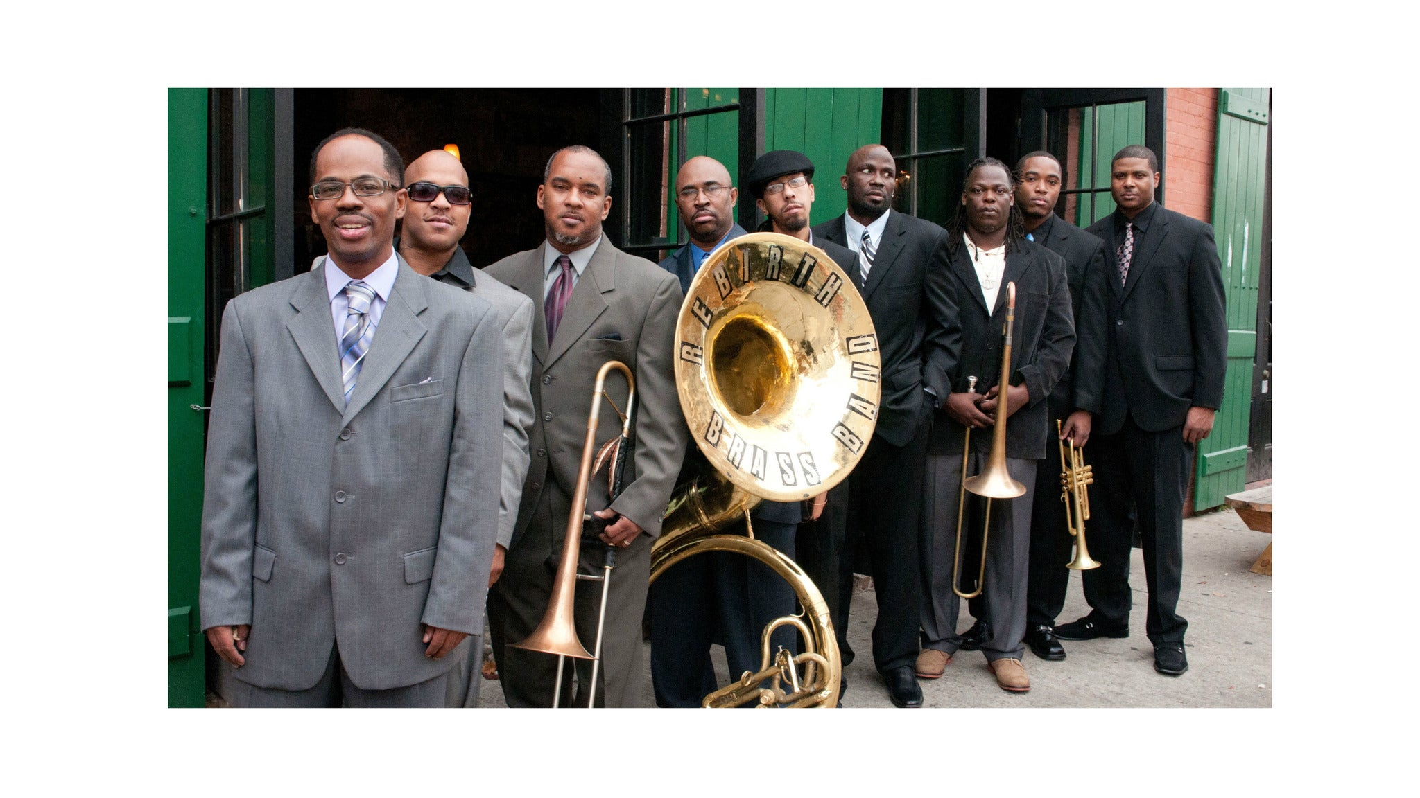 Rebirth Brass Band with special guests Erik Deutsch Band