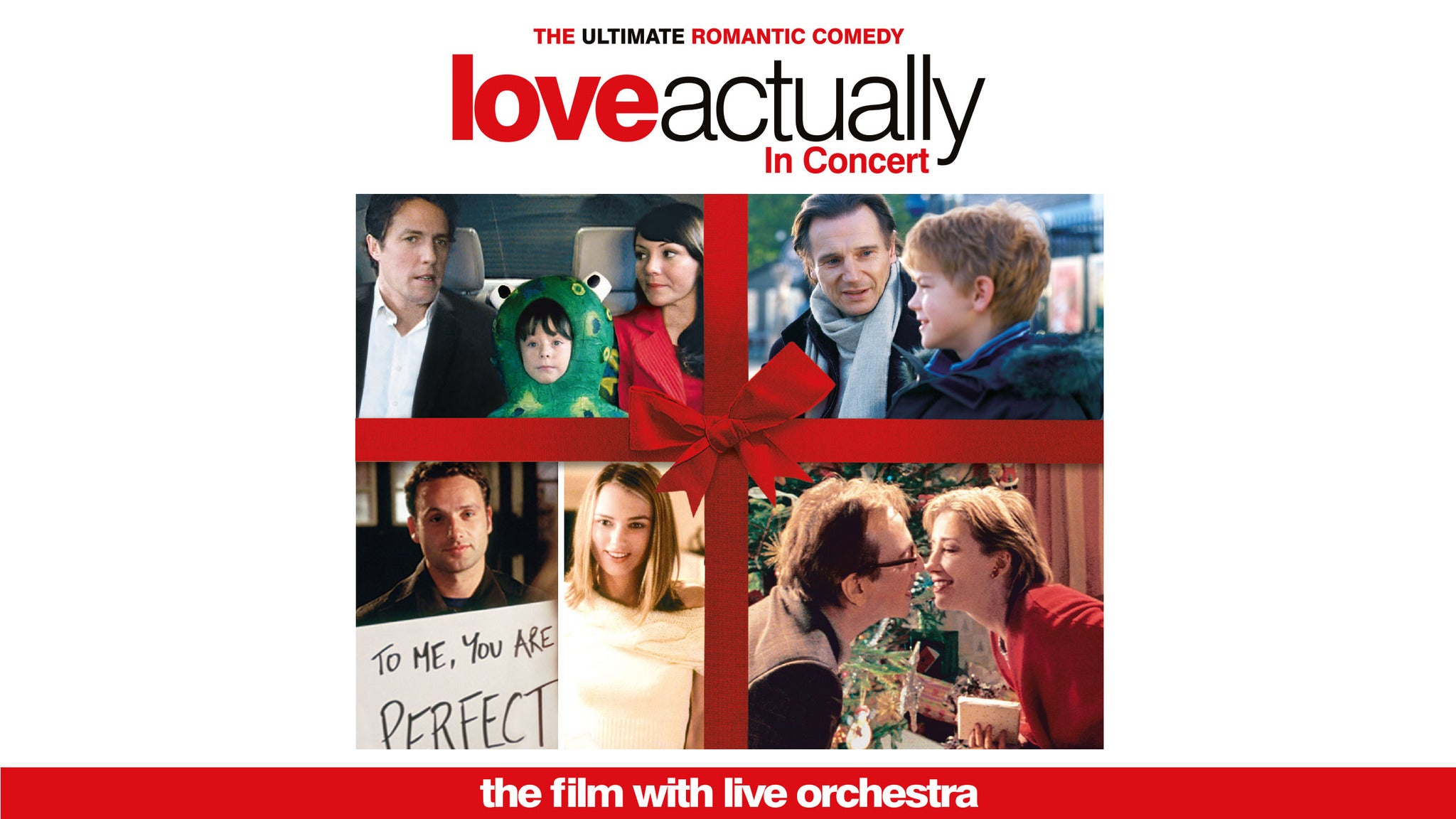 Love Actually In Concert Seating Plans