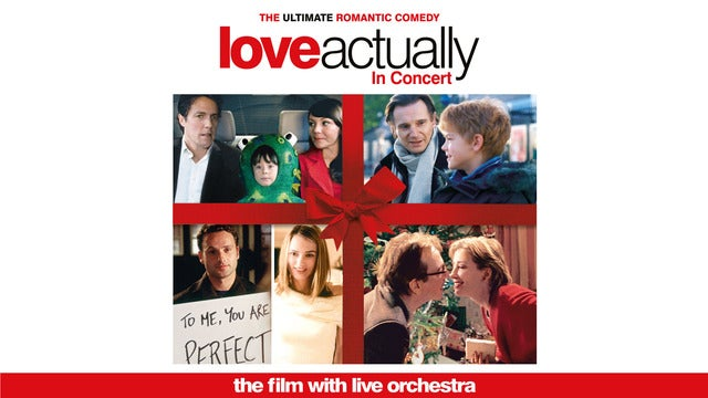 Love Actually - Film with Live Orchestra Eventim Apollo Seating Plan