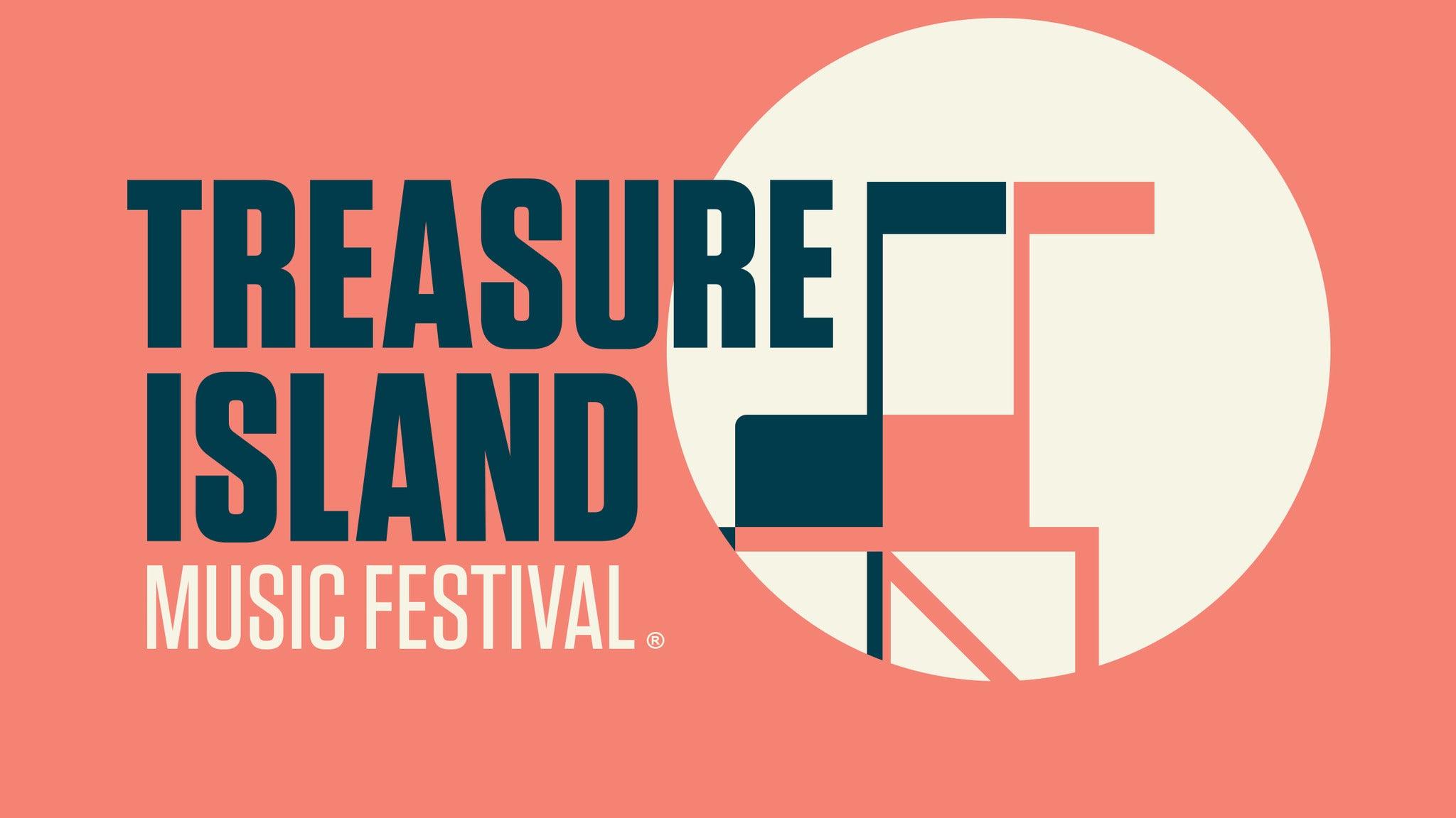Treasure Island Music Festival - SATURDAY GA TICKET