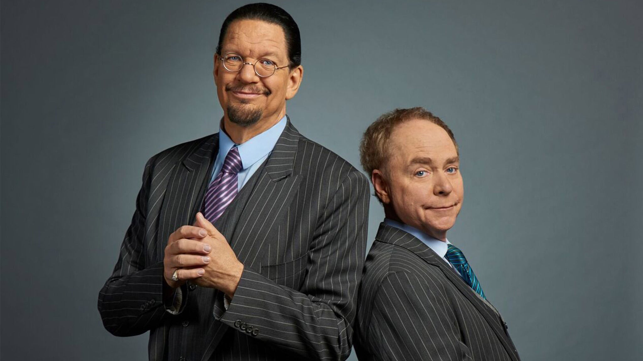 Penn & Teller tickets (Copyright © Ticketmaster)