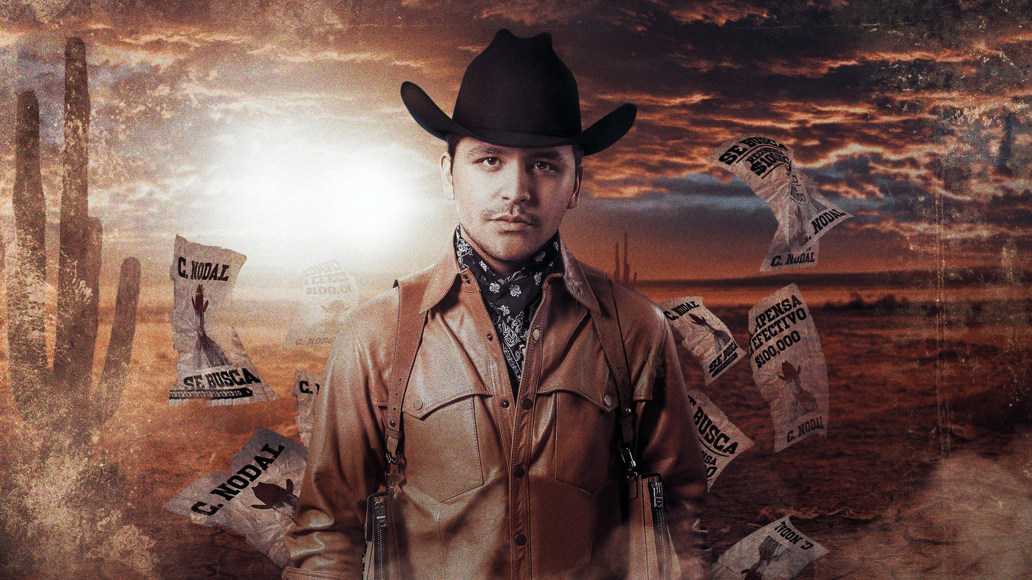 Christian Nodal at Gas South Arena