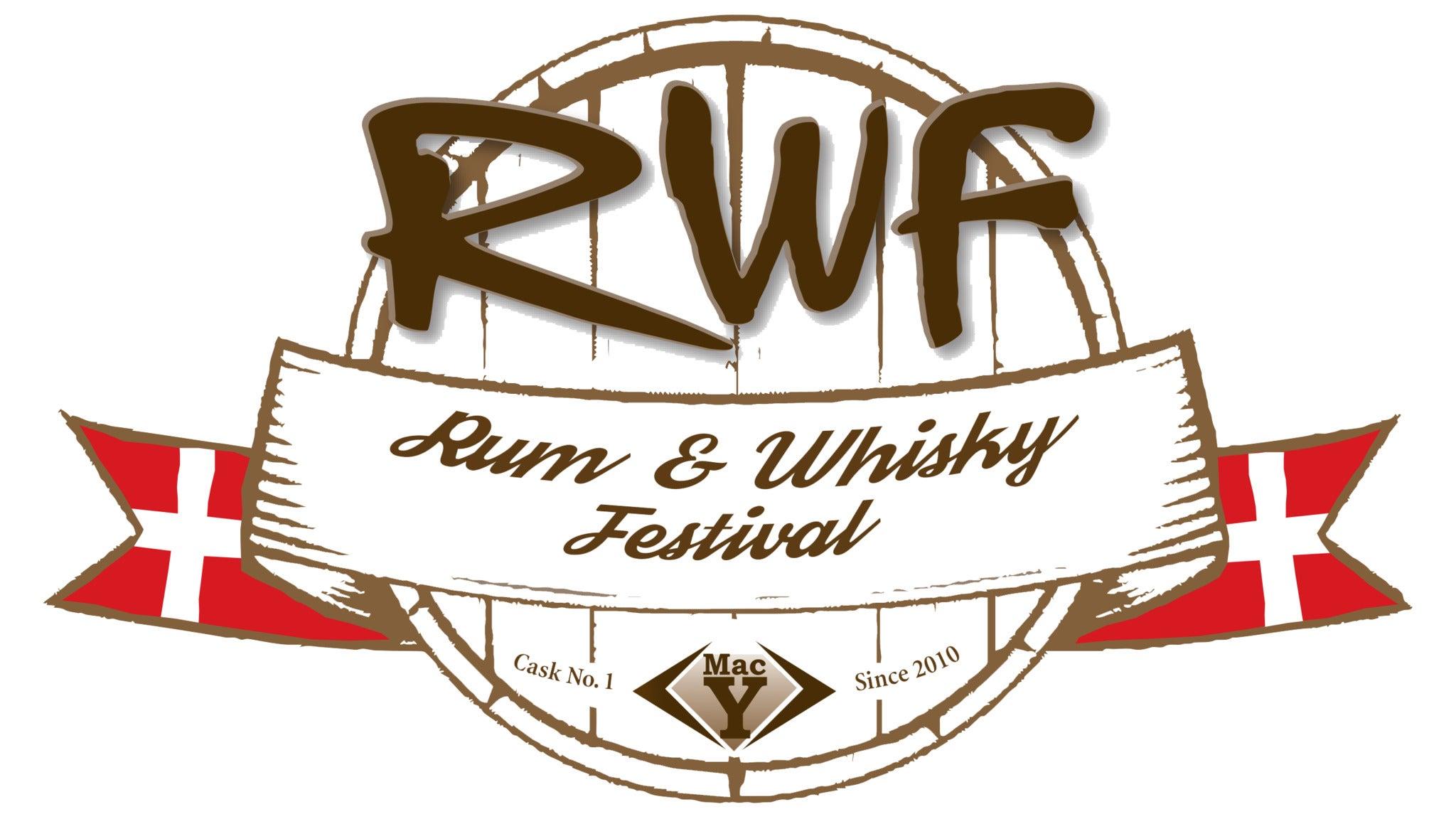 Madbestilling - Den Danske Rom & Whisky Festival 2020 FREDAG