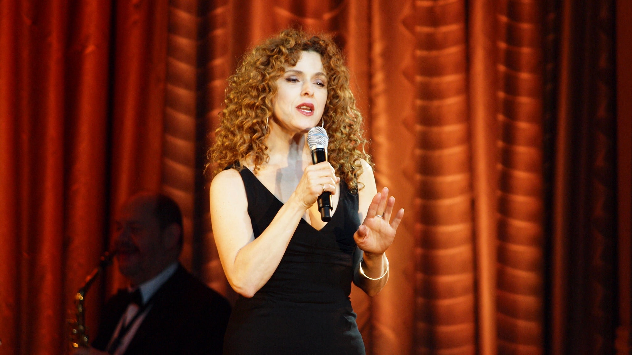 Bernadette Peters at Community Theatre-NJ