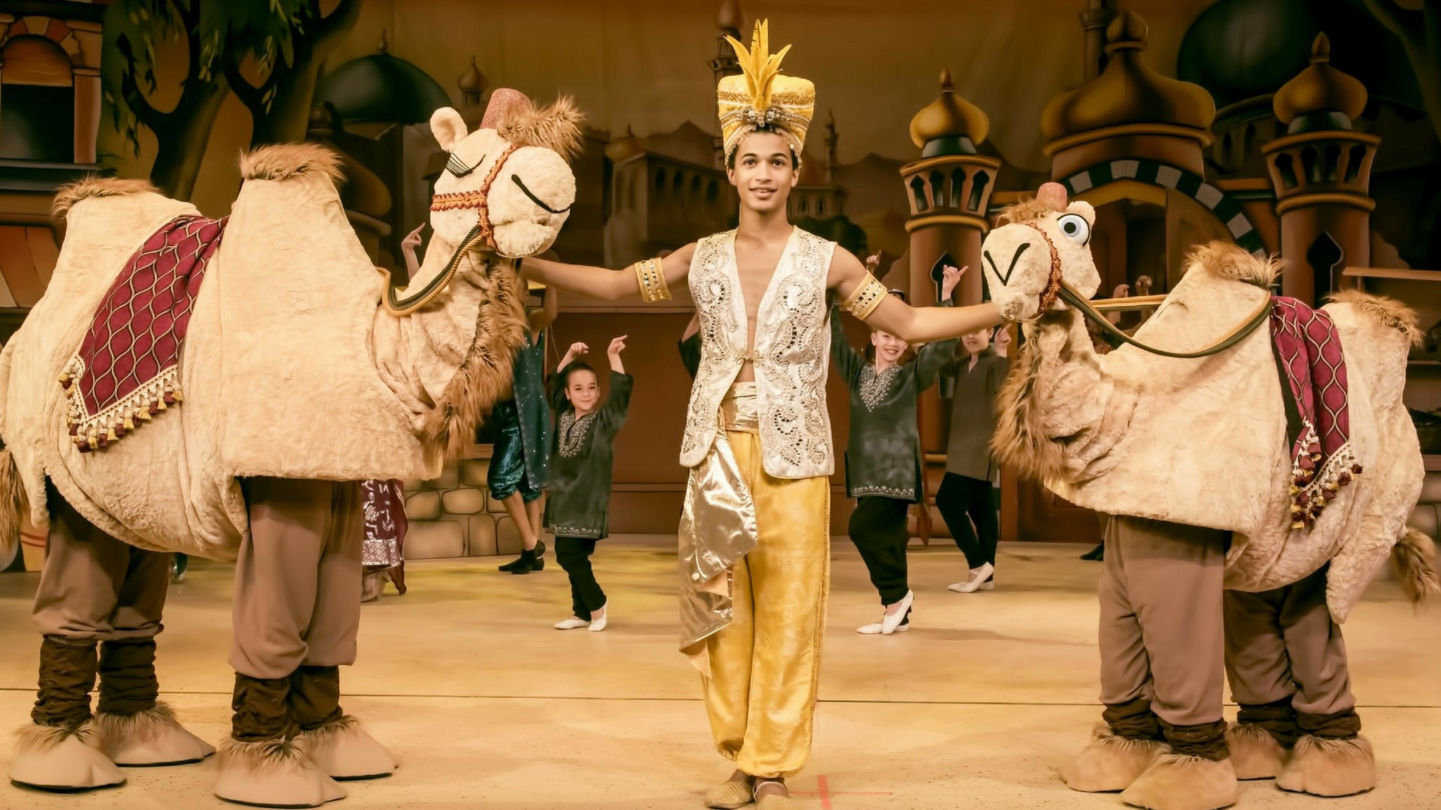 Aladdin and His Winter Wish at James K. Polk Theatre