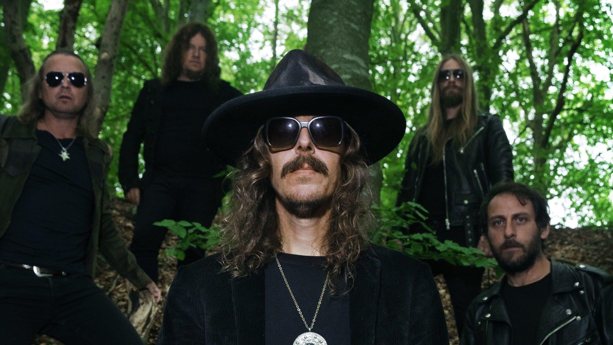 Opeth tickets (Copyright © Ticketmaster)