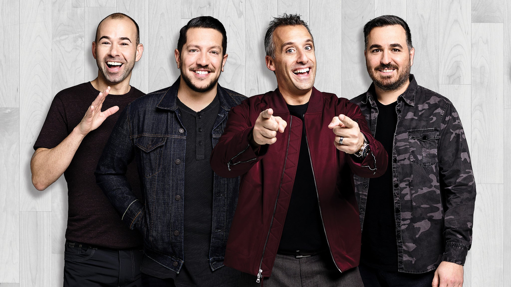 Cast of Impractical Jokers at Von Braun Center Arena
