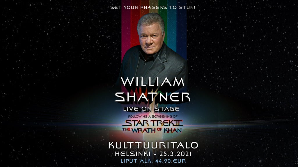 Hotels near William Shatner Events