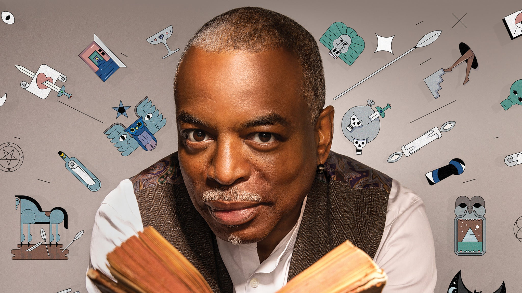 LeVar Burton Reads Live! at Scottish Rite Auditorium