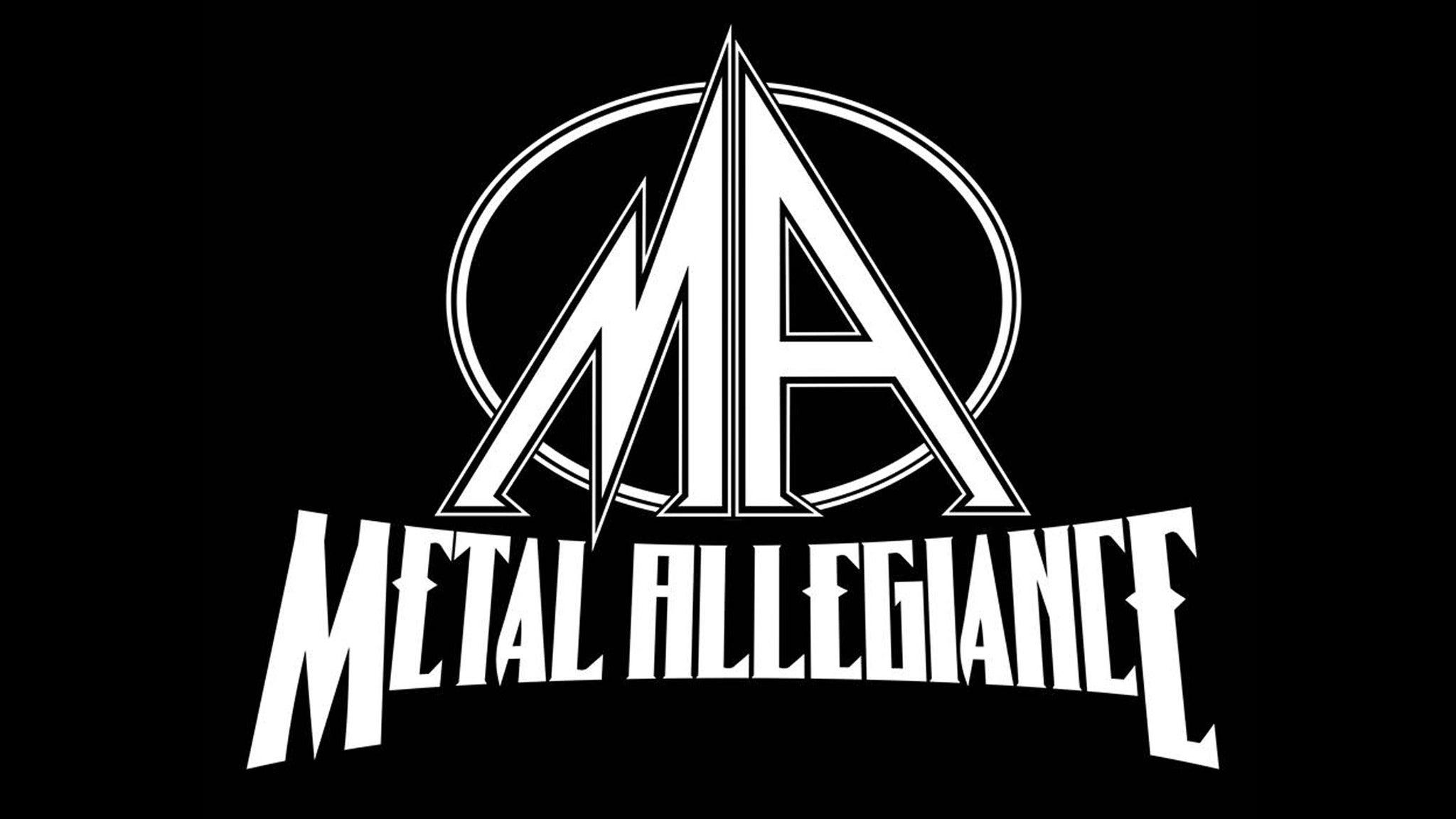Metal Allegiance, Crobot, Weapons of Anew, Metalfier