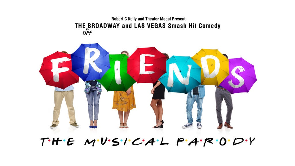 Hotels near Friends! The Musical Parody Events