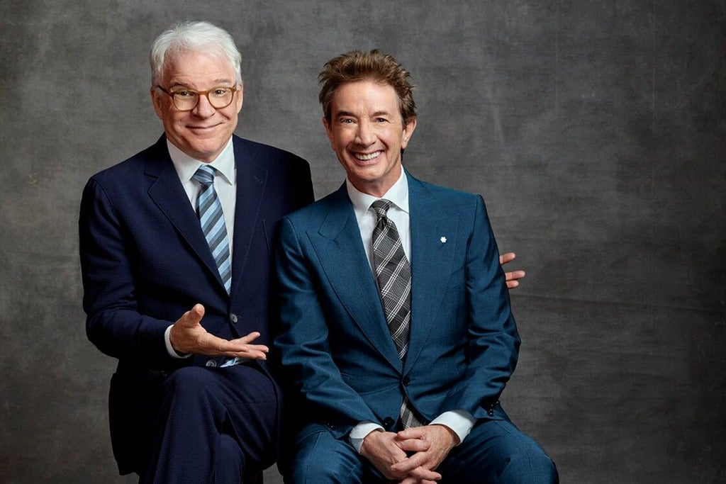 Steve Martin & Martin Short - the Funniest Show In Town At the Moment Genting Arena Seating Plan
